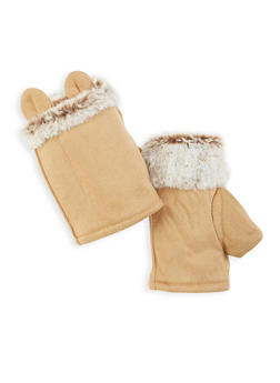 9edb5a627b Animal Ear Fingerless Gloves - 3121067442800