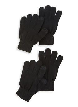 Set of 2 Touch Screen Gloves - 3121067442808