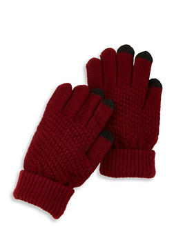 Touch Screen Knit Gloves - 3121067442810