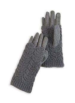 Convertible Fleece Lined Gloves - 3121067442813
