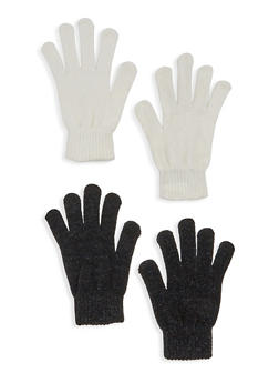 Set of 2 Chenille Gloves - 3121067442900