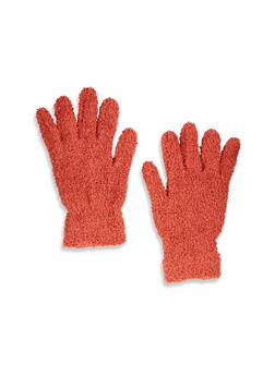 Solid Plush Gloves - 3121067448077