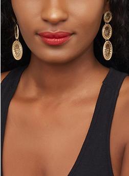 Cat Coin Earrings - 3122029364901