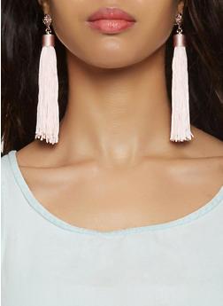 Tassel Earrings - 3122035154507