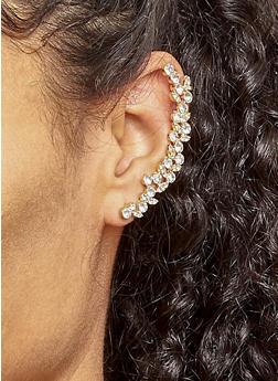 Rhinestone Ear Cuffs - 3122057690610