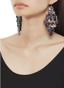 Glitter Cascade Earrings - 3122057696910