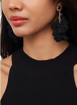 Tassel Chandelier Earrings - 3122071211033