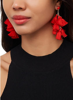 Tassel Chandelier Earrings - 3122071211033