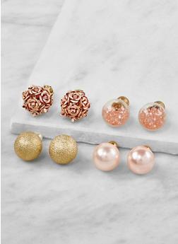 Double Sided Stud Earrings - 3122071432025