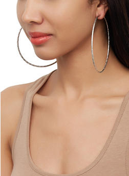 Metallic Hoop Earring Trio | 3122071432134 - 3122071432134