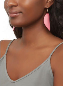 Cut Out Drop Earring Trio - 3122071432135