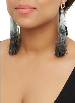 Rhinestone Tassel Earrings | 3122074173133 - 3122074173133