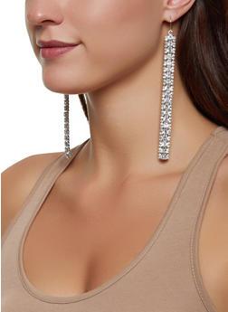 Rhinestone Drop Earrings | 3122074173920 - 3122074173920