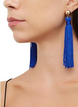 Tassel Drop Earrings - 3122074756313