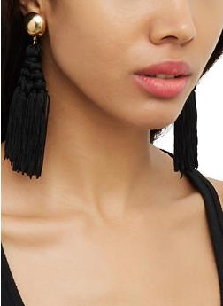 Tassel Chandelier Earrings | 3122074980554 - 3122074980554