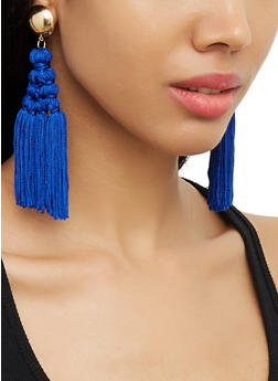 Tassel Chandelier Earrings | 3122074980554 - 3122074980554