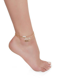 Anklets for Women Gold