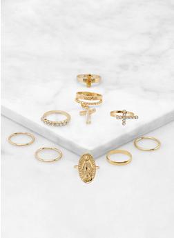 Religious Rings Set - 3123074374489