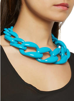 Interlocking Necklace with Matching Earrings Set - 3123074462211