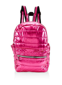Iridescent Puffer Backpack - 3124040321213