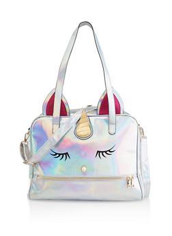 Unicorn Holographic Travel Bag - 3124040321430