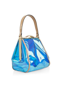 Clear Colored Handbag - 3124040321755