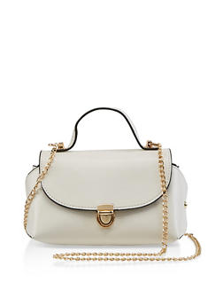 Mini Chain Crossbody Satchel - 3124040321807