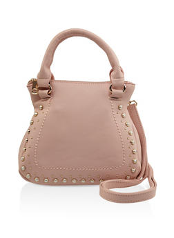 Faux Pearl Mini Handbag - 3124040325560