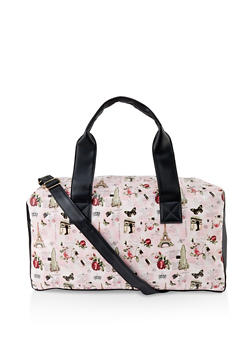 Paris Print Duffel Bag - 3124061590002