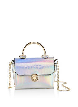 Iridescent Crossbody Bag - 3124061590186