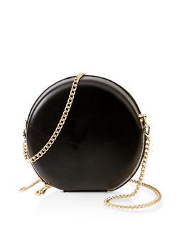 Circular Crossbody Bag - 3124061590980