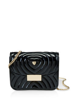 Quilted Jelly Crossbody Bag - 3124061591130