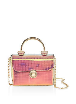 Iridescent Crossbody Bag - 3124061596810