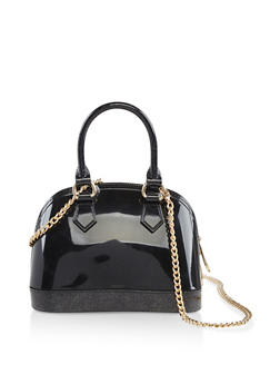 Mini Jelly Crossbody Bowler Bag - 3124061597360
