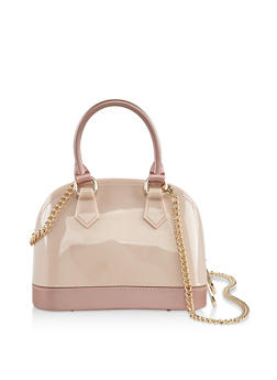 Mini Jelly Crossbody Bowler Bag - 3124061597360