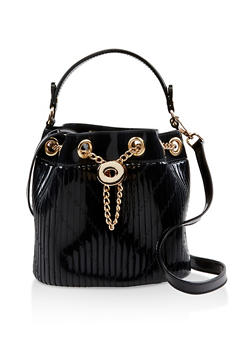 Jelly Crossbody Bucket Bag - 3124061597710