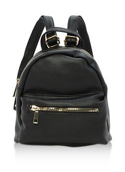Mini Zip Backpack - 3124067440076