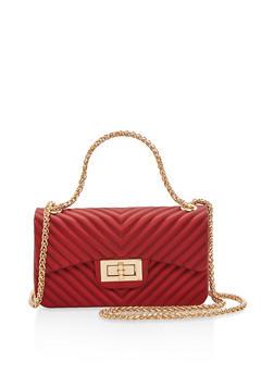 Silicone Crossbody Bag - 3124067440588
