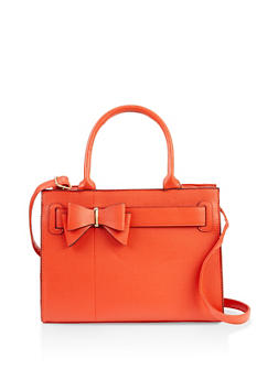 Bow Detail Handbag - 3124067442528