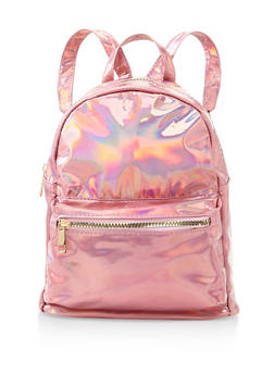 Small Iridescent Backpack - PINK - 3124067448028