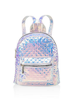 Small Holographic Backpack - 3124067448039