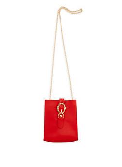 Square Chain Crossbody Bag - 3124067448060