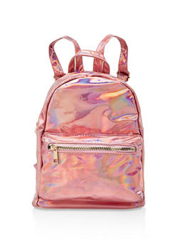 Holographic Backpack - PINK - 3124067448208