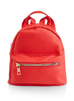 Mini Faux Leather Backpack | 3124067449005 - 3124067449005