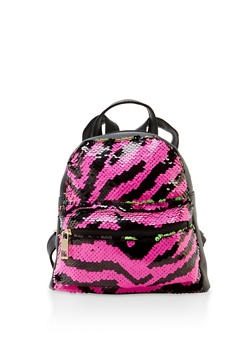 Mini Reversible Sequin Backpack - 3124067449007