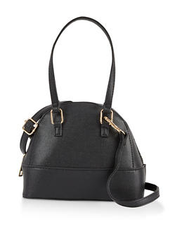 Small Dome Crossbody Bag - 3124067449046