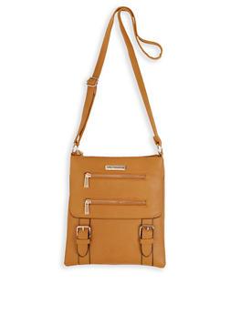 Sag Harbor Faux Leather Crossbody Bag - 3124071751278