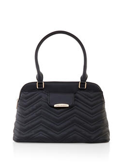 Quilted Handbag - 3124071755230