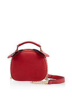 Round Chain Crossbody Bag - 3124073402046