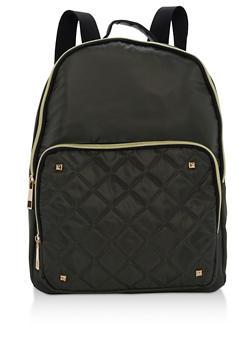 Large Nylon Backpack - 3124073409860